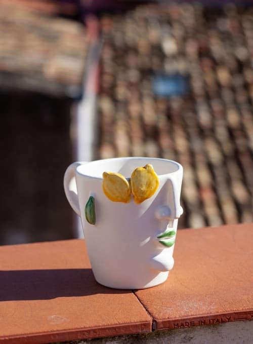 Filomena Mug   Cups by Patrizia Italiano