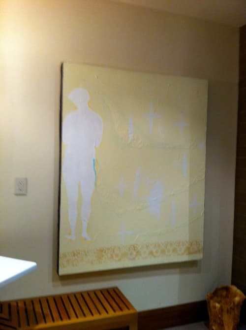 Paintings by Tibor Hargitai Art seen at Private Residence, Niagara-on-the-Lake - NOT CLEAN BUT PURIFIED 1996
