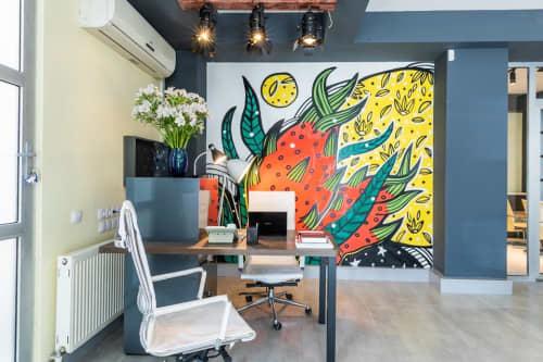 Dragon Fruit at Mojo Hotel   Murals by Masholand