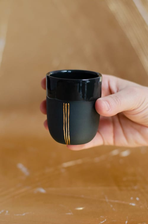 Simone, Espresso Cup   Cups by Boya Porcelain