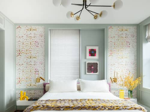 Wallpaper by Élitis at Private Residence, Chelsea, New York - Wallpaper