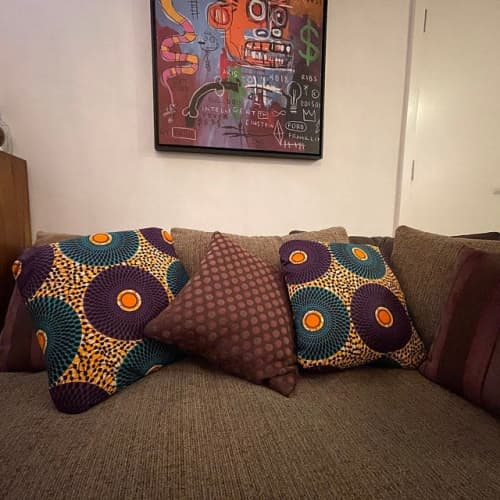 Pillows by MyAnkaralove seen at Private Residence, Ipswich - Couch Pillow Covers