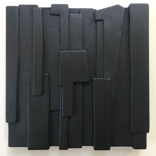 Blockbuster wall sculpture | Sculptures by Eben Blaney Furniture
