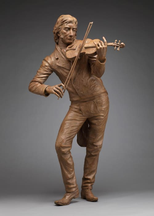 Public Sculptures by Sutton Betti seen at Private Residence, Loveland - Niccolo Paganini