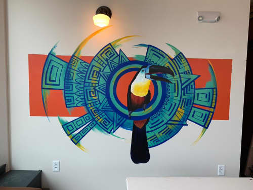 Murals by Rogers Create seen at Richland Center, Richland Center - Mexican Restaurant