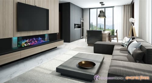 Fireplaces by European Home seen at Creator's Studio, Middleton - Linnea Electric Fireplace
