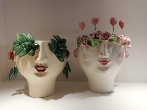 Vases & Vessels by Patrizia Italiano - Oliva oil seller, Bocca di Rosa and Agostino snail seller