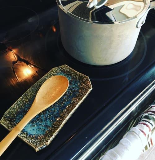 Ceramic Plates by MADISONWARE Ceramics - Ceramic Spoon Rest