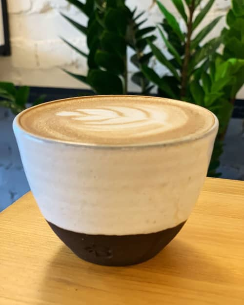 Ceramic Cup | Cups by Potters Thumb | BackWood Sustainable Café in Brighton
