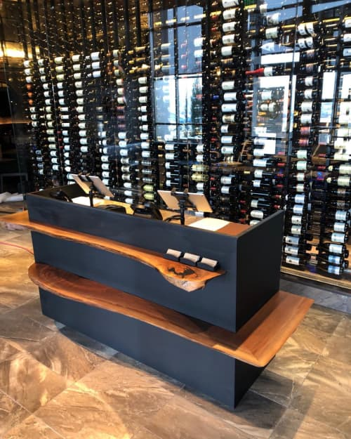 Host Stand | Furniture by Created Hardwood | Ocean Prime in Denver