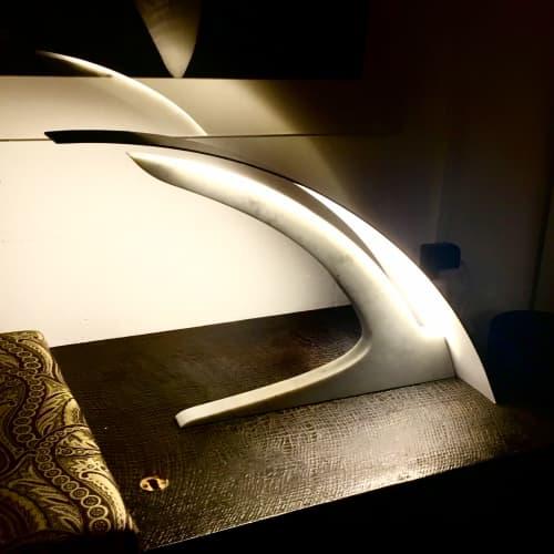 AURA  Desk Lamp   Lamps by RUBERTELLI DESIGN