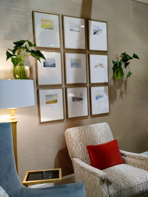 Watercolors Installation | Paintings by Susan Maakestad