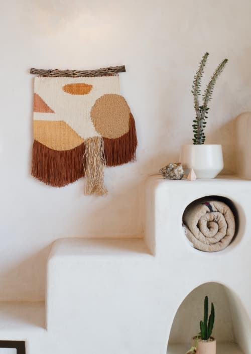Handwoven Tapestry | Wall Hangings by Zanny Adornments | Austin in Austin