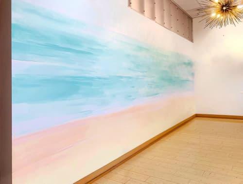 Interior Mural   Murals by Stefanie Bales Fine Art   The Forum Carlsbad in Carlsbad