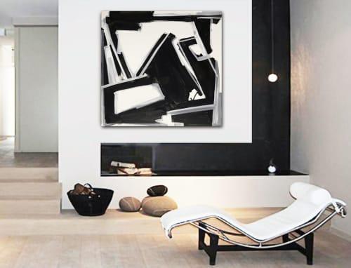 'THURSDAY'   Paintings by Linnea Heide contemporary fine art