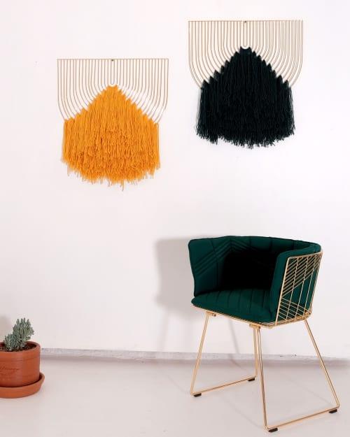 Macrame Art Piece   Macrame Wall Hanging by Bend Goods