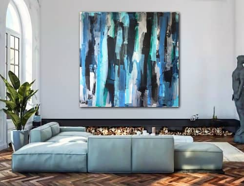 'ANCHORAGE'   Paintings by Linnea Heide contemporary fine art