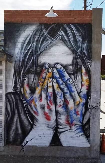 Street Murals by Hugo Medina seen at Phoenix, AZ, United States, Phoenix - Signs of the Times