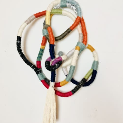 Tangled   Wall Hangings by Trudy Perry   Ten Women Gallery in Santa Monica