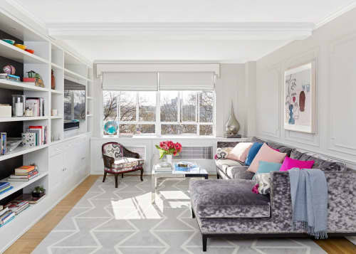 Interior Design by Laurie Blumenfeld Design seen at Riverside Park, New York - Riverside Renovation Project