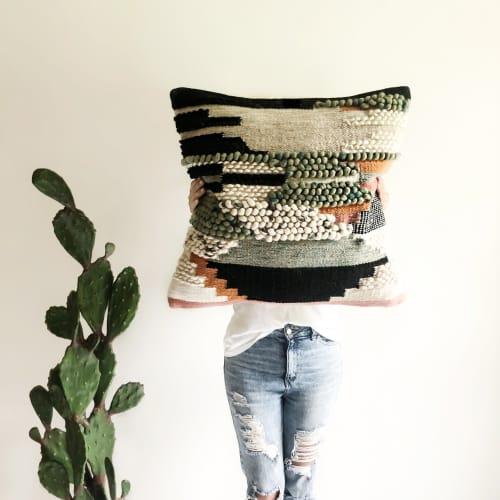 Pillows by Coastal Boho Studio seen at Creator's Studio, Destin - Calliope Pillow Cover