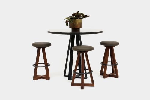 Chairs by ARTLESS seen at Private Residence, Los Angeles - X3 Bar Stool