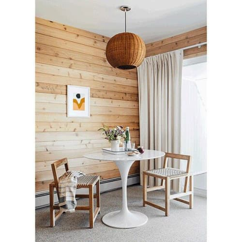 Kumiki Dining Chair | Chairs by From the Source | Sound View Greenport in Greenport