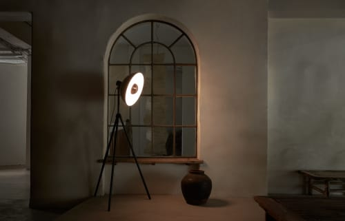 Lamps by SEED Design USA seen at Private Residence, Renton - Apollo Floor Lamp