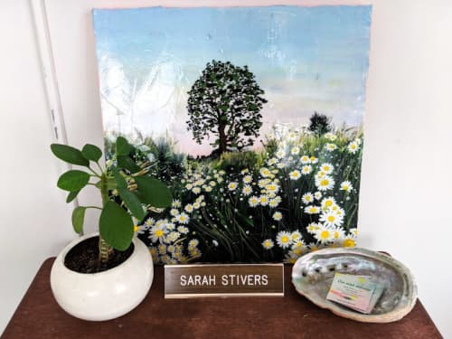 Paintings by Sarah Stivers seen at Portland, Portland - Daisies