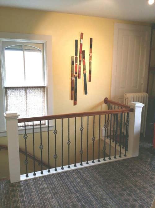 Sticks   Wall Hangings by Rhonda Cearlock