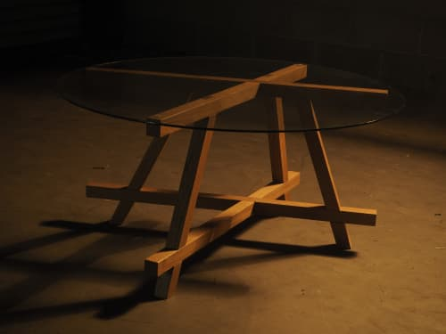 Tables by Project Sunday seen at Project Sunday Studio, Salt Lake City - The Dado Table