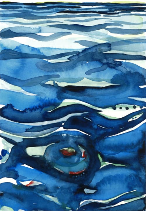 Paintings by ISA CATTO STUDIO - Whirlpool