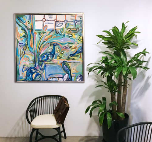Paintings | Paintings by RIPPLE ROOT by Liquan Liew and Estella Ng | Essex Court Chambers Duxton in Singapore