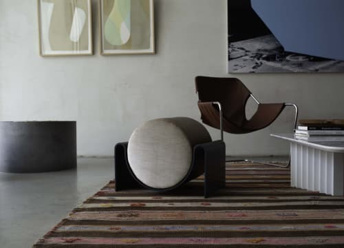 Benches & Ottomans by Asa Pingree - Monitor Stool
