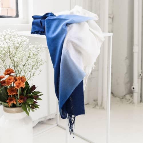Azure Throw | Linens & Bedding by Studio Variously