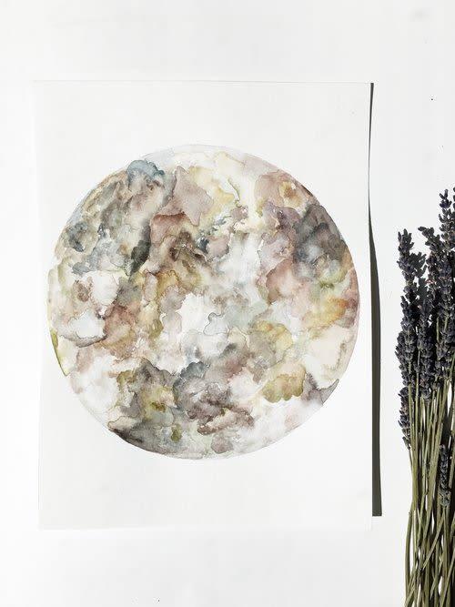 Terrain   Paintings by Emily Tingey
