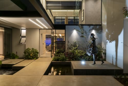 Architecture by Nico van der Meulen Architects seen at Private Residence, Johannesburg - House ASN