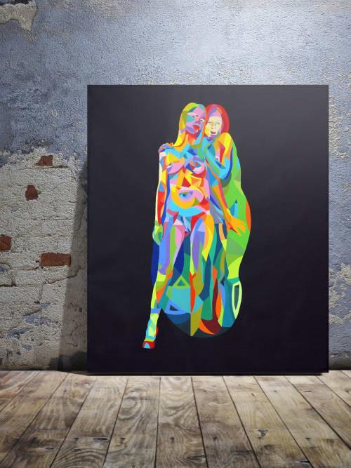 Murals by Moleiro Artwork - Un Paso al Frente