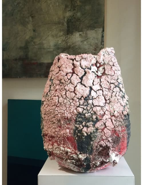 Sculptures by Adam Knoche seen at Private Residence, Dallas - Crust