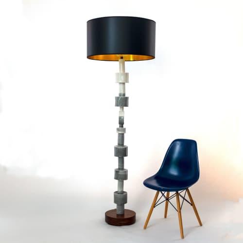 Totem Floor Lamp | Lamps by Rust Designs