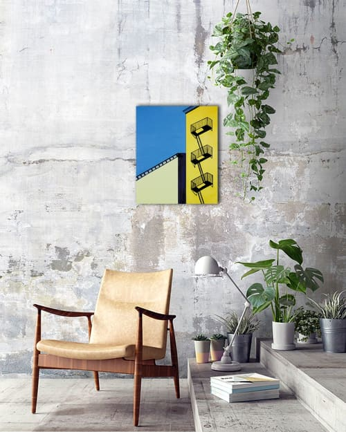 Paintings by Marco Domeniconi Studio seen at Private Residence, New York - Balcony Seats to the City