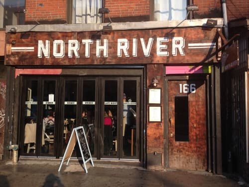 NORTH RIVER | Signage by Very Fine Signs