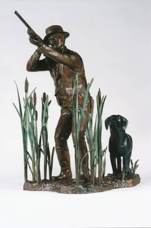 Hunting Partners | Sculptures by Don Begg / Studio West Bronze Foundry & Art Gallery