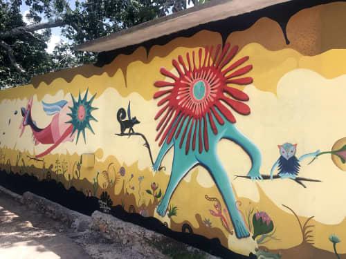 Sol revolución Zentik | Murals by Marisol D'Estrabeau | Zenti'k Project in Valladolid