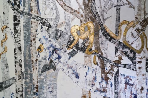 Paintings by Nathalie Massa Berdugos seen at Private Residence, Paris - Genèse