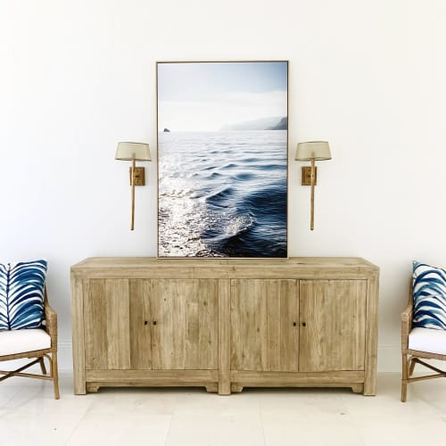 Photography by Kara Suhey Print Shop seen at Private Residence, Ponte Vedra Beach - Open Water Navy Blue