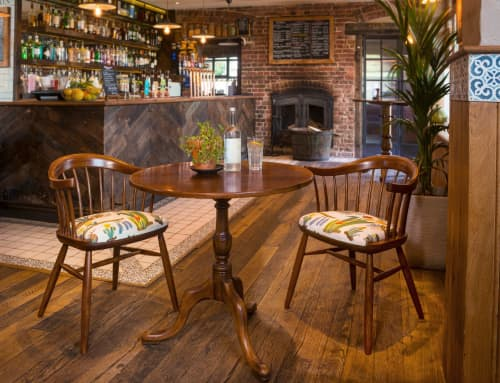 Chairs by Cheeky Chairs at The Potting Shed, Langley - The Darwin Chair