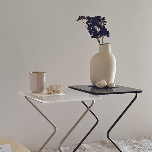 The Black Square | Tables by KRAY Studio by Rita Kettaneh