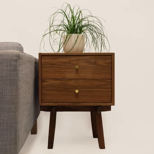 Tables by Oliver Inc. Woodworking - Belfry Bedside Table