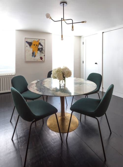 Chairs by M2L seen at Private Residence, Greenwich Village, New York - Chairs